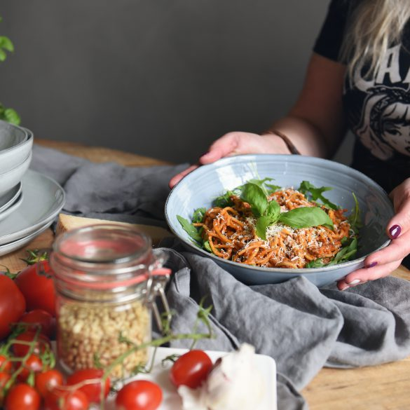 spaghetti a la Lautje